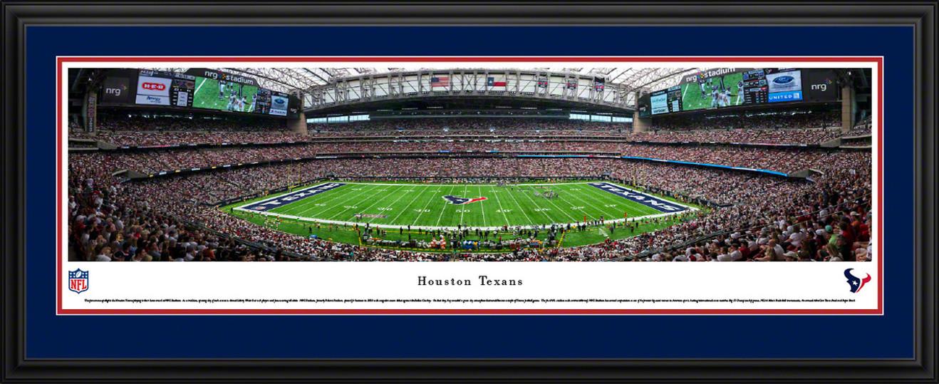 Houston Texans Panoramic Picture - NRG Stadium Panorama