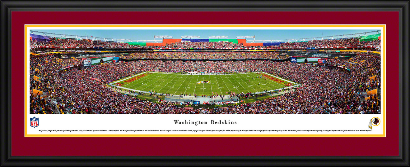 Washington Redskins Panoramic Picture - FedExField Panorama