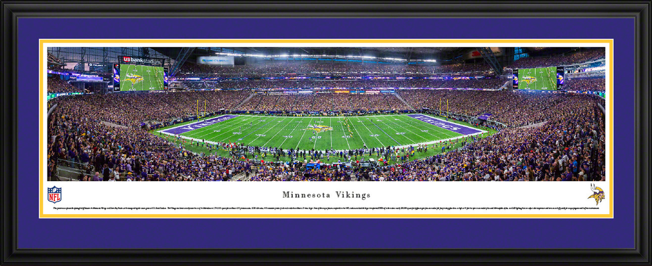 Minnesota Vikings Panoramic Pictures - U.S. Bank Stadium