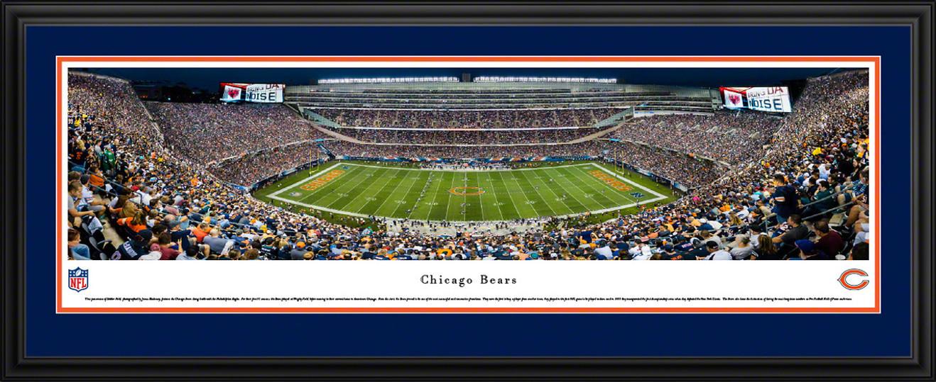 Chicago Bears Panoramic Picture - Soldier Field Stadium Panorama