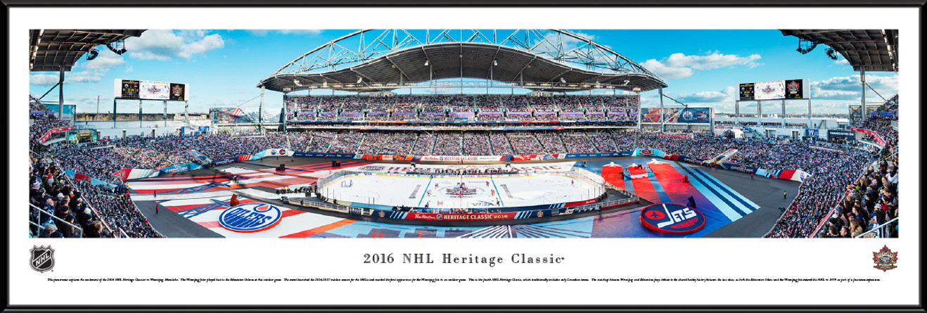 2016 Heritage Classic Panoramic Picture - Edmonton Oilers vs. Winnipeg Jets