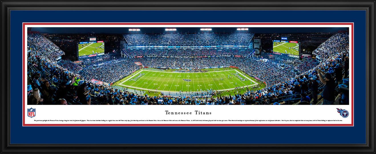 Tennessee Titans Panoramic Picture - Nissan Stadium