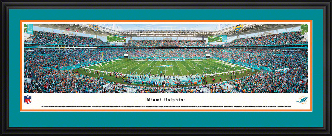 Miami Dolphins Panoramic Picture - Hard Rock Stadium