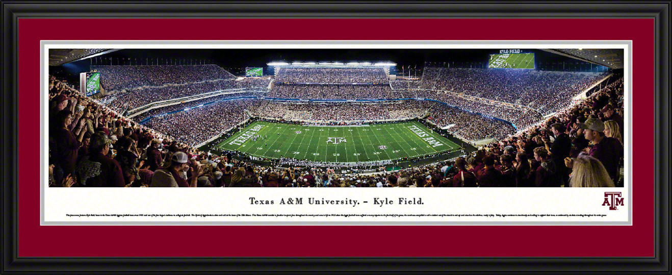 Texas A&M Aggies Football Panorama - Kyle Field Picture