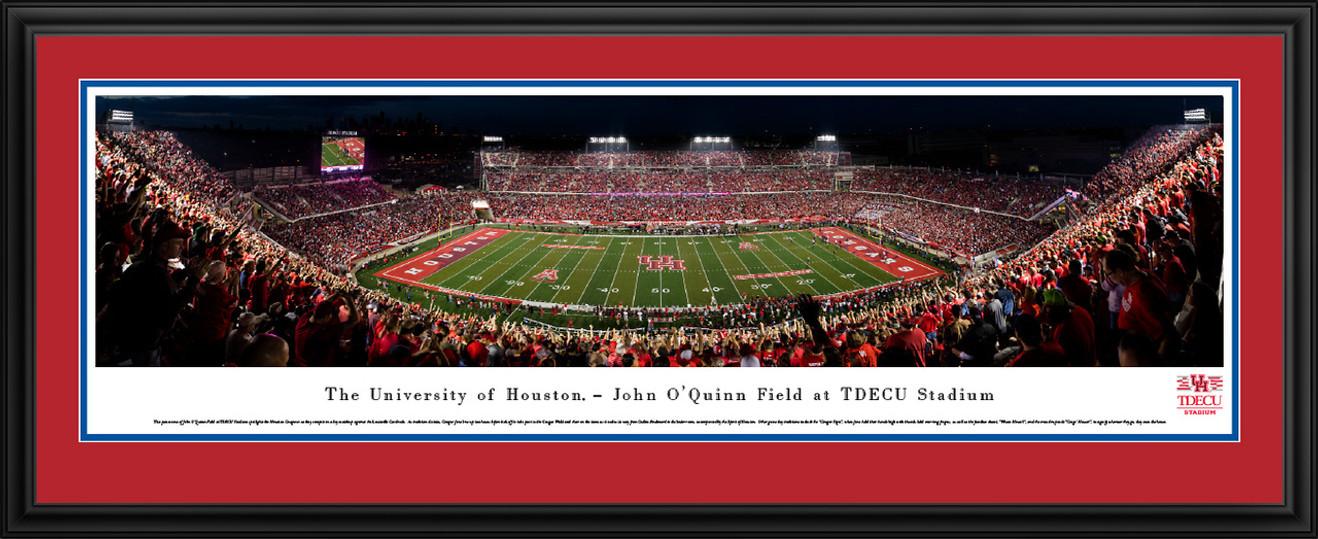 Houston Cougars Panoramic Picture - TDECU Stadium Panorama