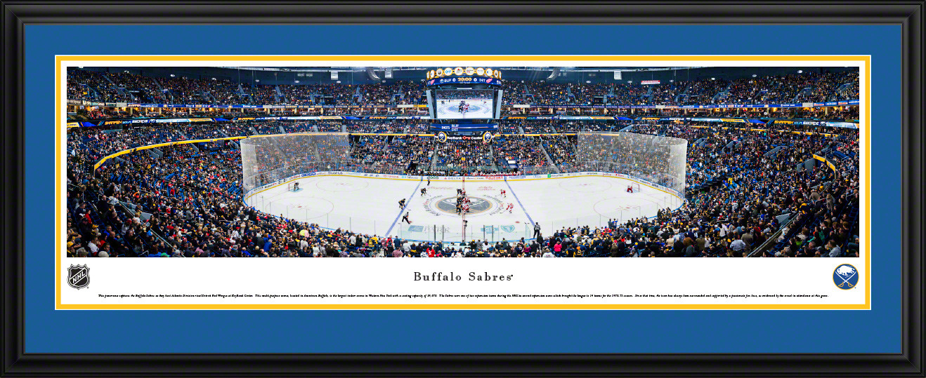 Buffalo Sabres Panoramic Picture - KeyBank Center