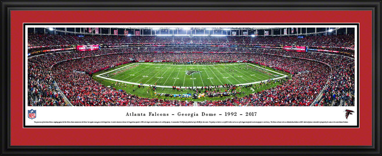 Atlanta Falcons Panoramic Picture - Georgia Dome Panorama