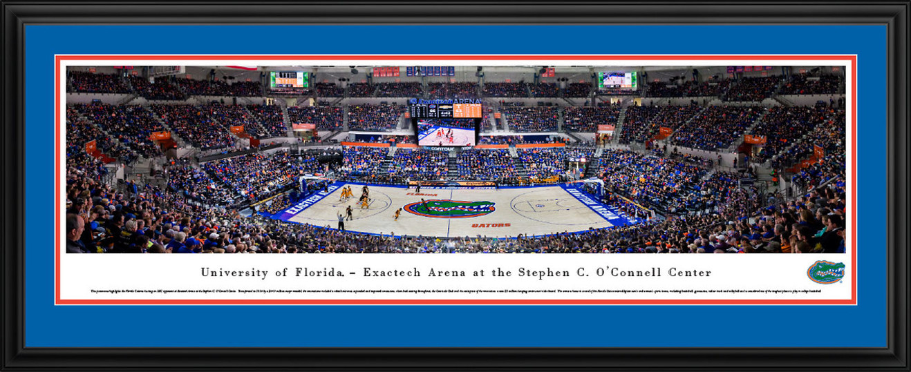 Florida Gators Panoramic Picture - O'Connell Center
