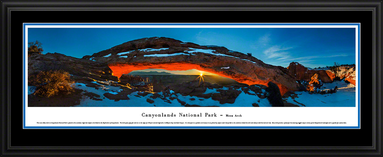 Canyonlands National Park Panoramic Picture - Mesa Arch