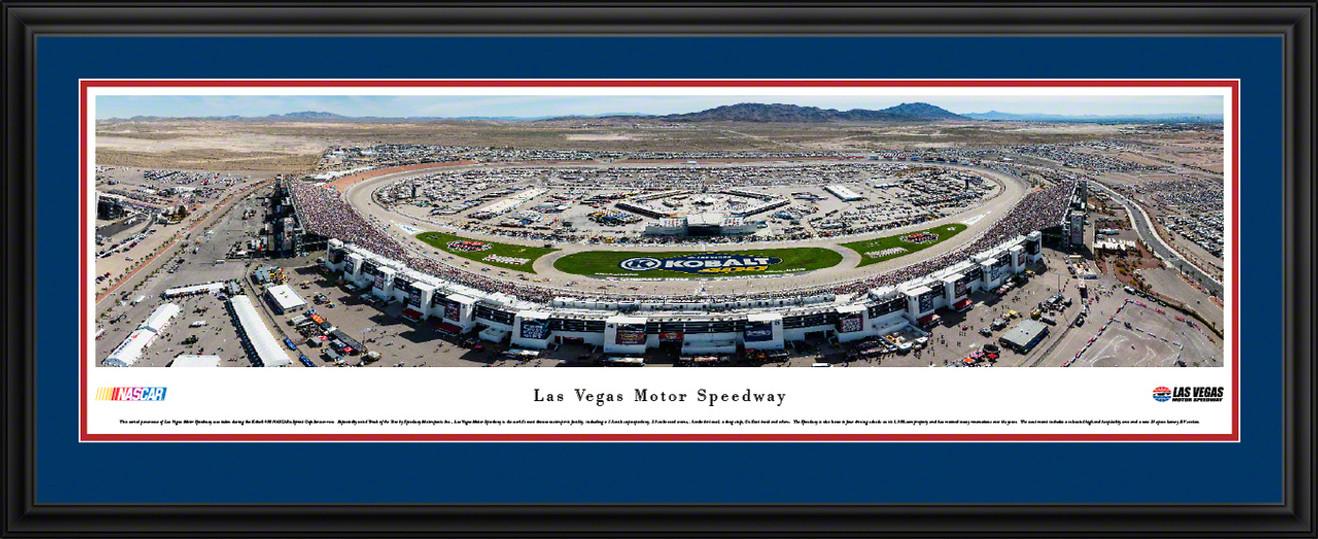 Las Vegas Motor Speedway Panorama - Aerial Picture