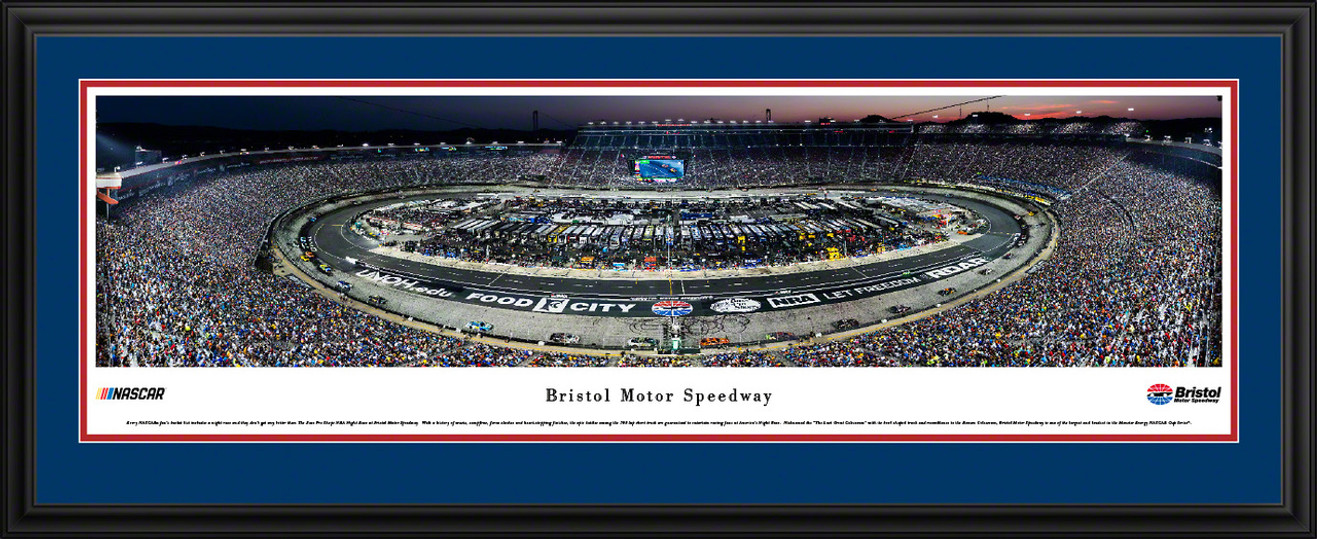 Bristol Motor Speedway Race Aerial Panoramic Picture