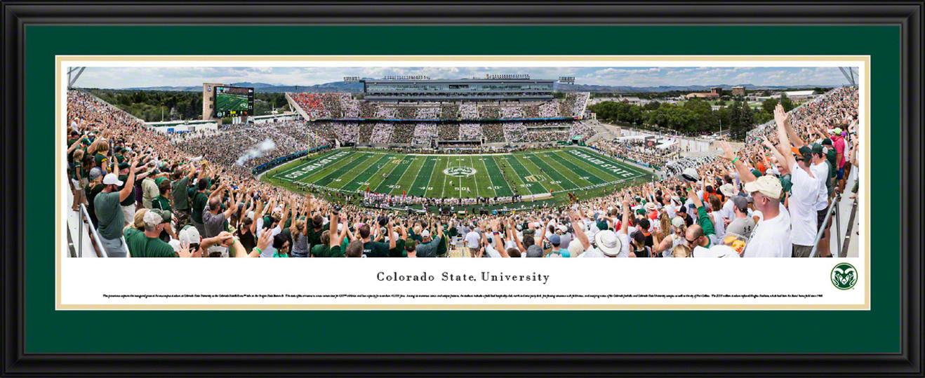 Colorado State Rams Panoramic Picture - Colorado State Stadium