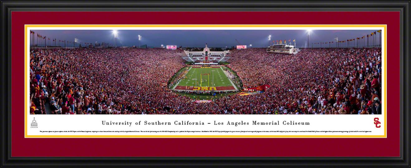 USC Trojans Panoramic Picture - Memorial Coliseum