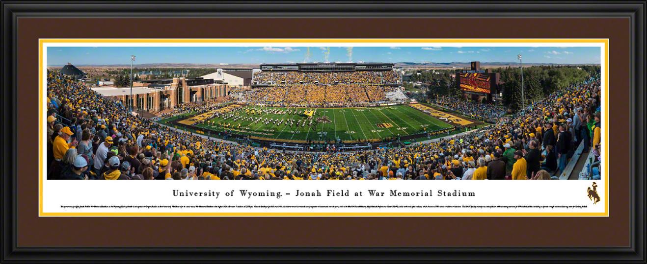 Wyoming Cowboys Football Panoramic Picture - War Memorial Stadium