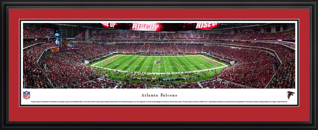 Atlanta Falcons Panoramic Picture - Mercedes-Benz Stadium