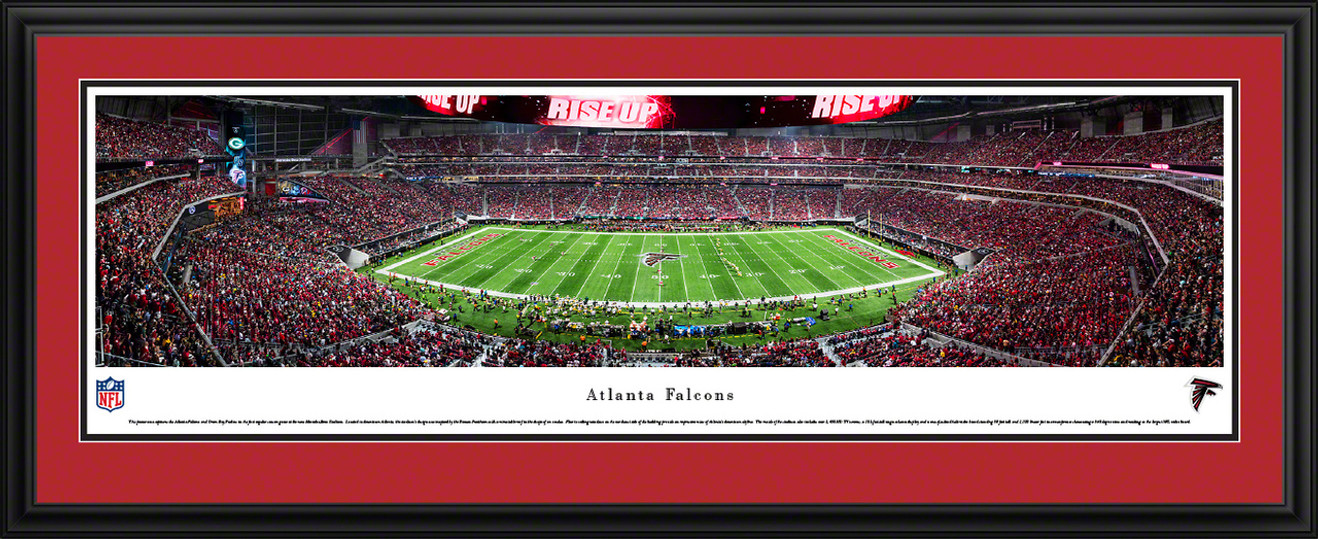 Atlanta Falcons Panoramic Picture - Mercedes-Benz Stadium