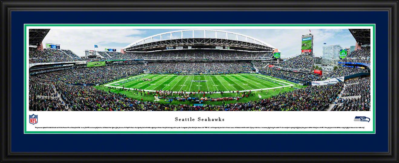 Seattle Seahawks Panoramic Picture - CenturyLink Field