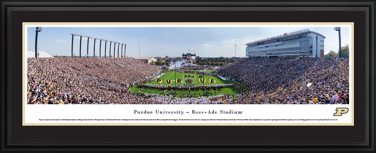 Purdue Boilermakers Football Panorama - Ross-Ade Stadium