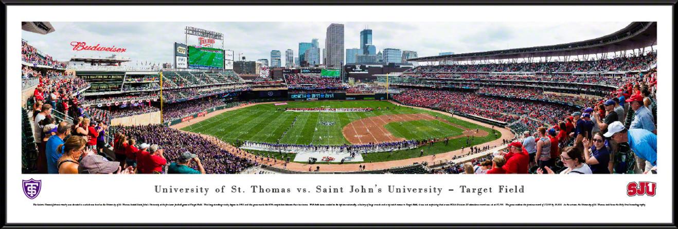 St. Thomas Tommies vs. Saint John's Johnnies Panoramic Picture