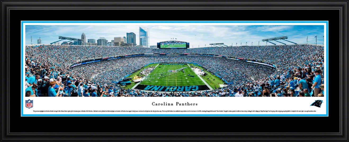 Carolina Panthers Panorama - Bank of America Stadium Picture