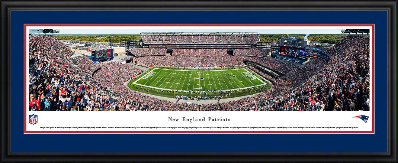 New England Patriots Panoramic Picture - Gillette Stadium