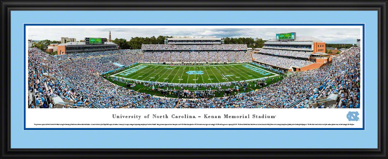 North Carolina Tar Heels Football Panoramic Picture - Kenan Memorial Stadium