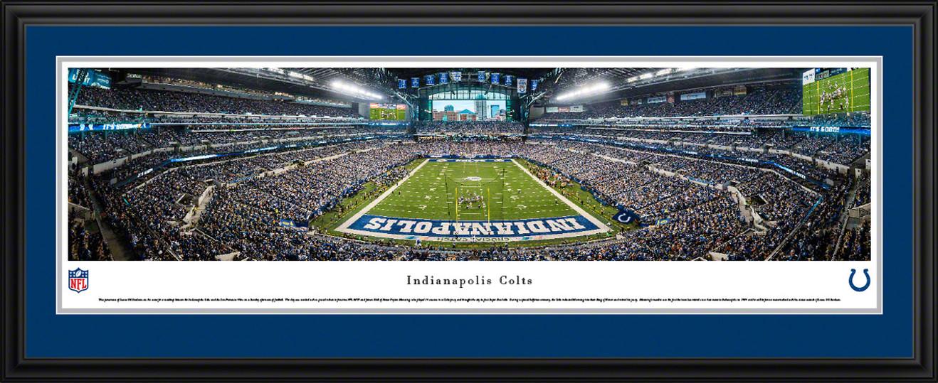 Indianapolis Colts Panorama - Lucas Oil Stadium Picture