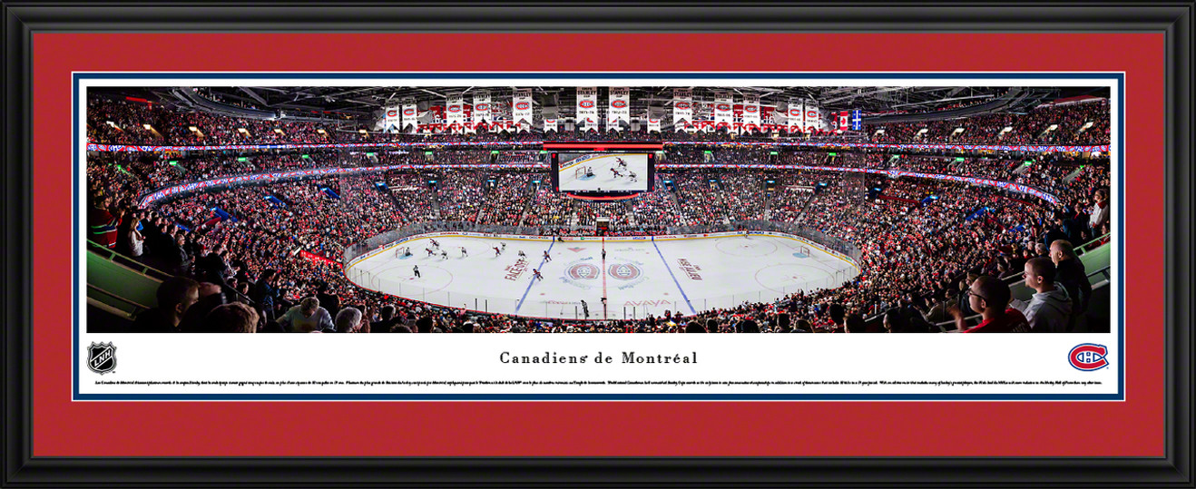 Montreal Canadiens Panoramic Picture - Centre Bell