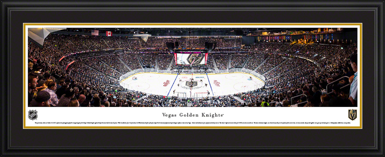 Vegas Golden Knights Panoramic Picture - T-Mobile Arena