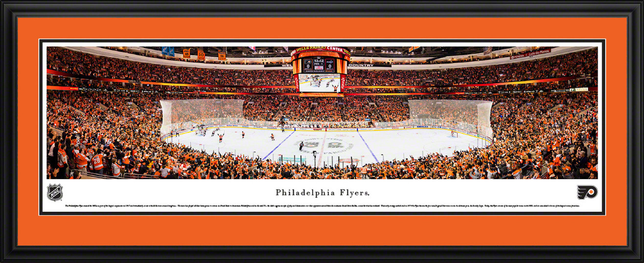 Philadelphia Flyers Panoramic Picture - Wells Fargo Center
