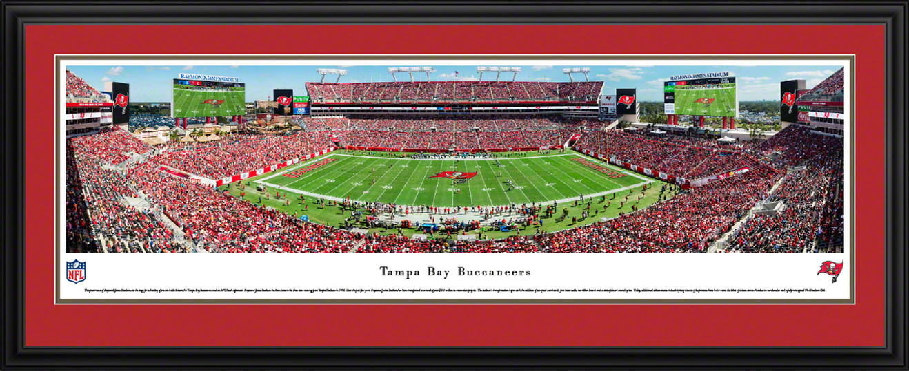 Tampa Bay Buccaneers Panorama - Raymond James Stadium Picture