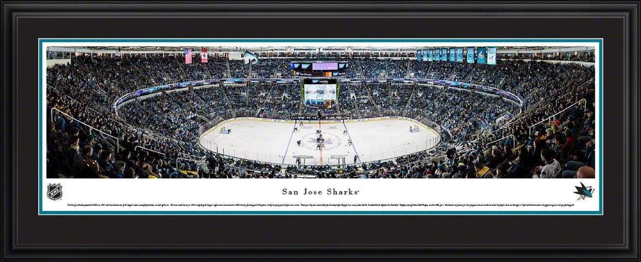San Jose Sharks Panoramic Picture - SAP Center