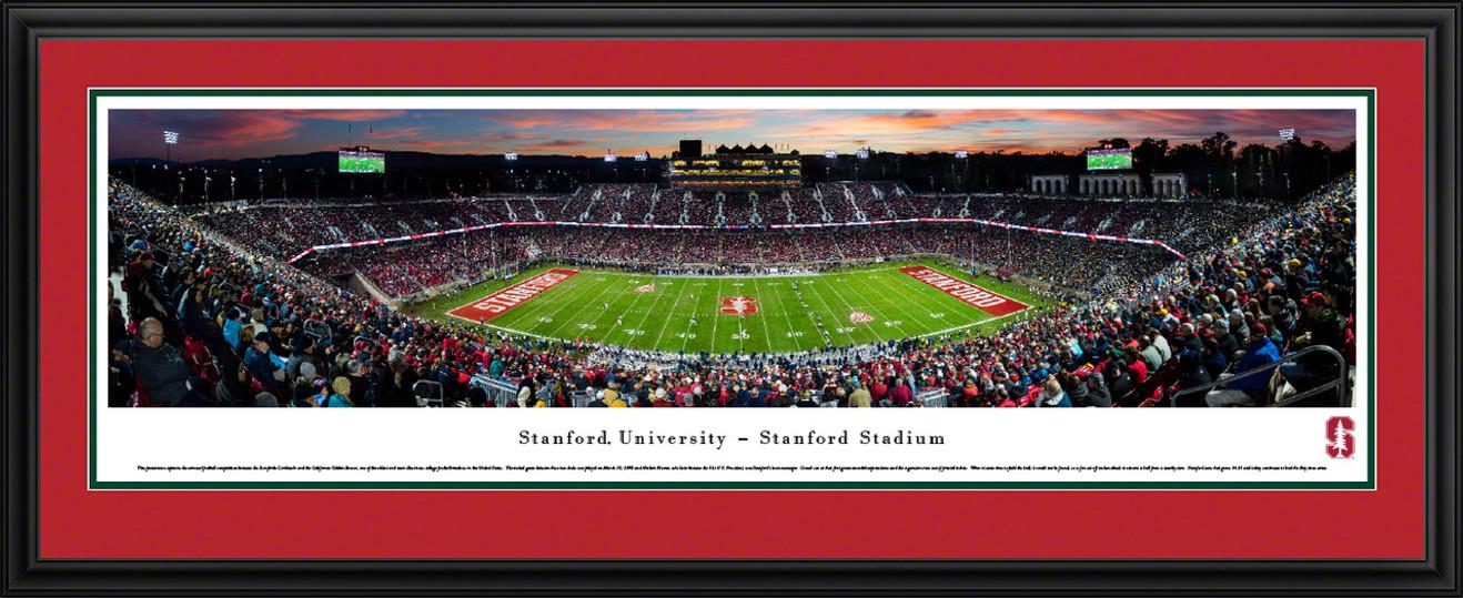 Stanford Cardinal Football Panoramic Picture - Stanford Stadium