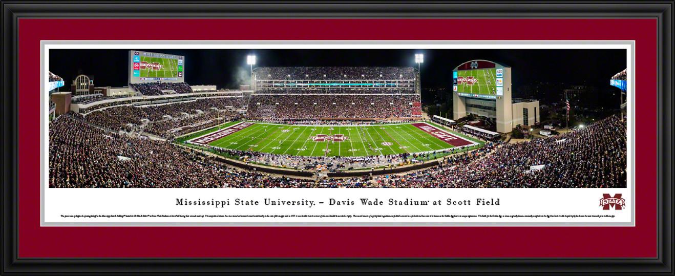 Mississippi State Bulldogs Football Panoramic Picture - Davis Wade Stadium