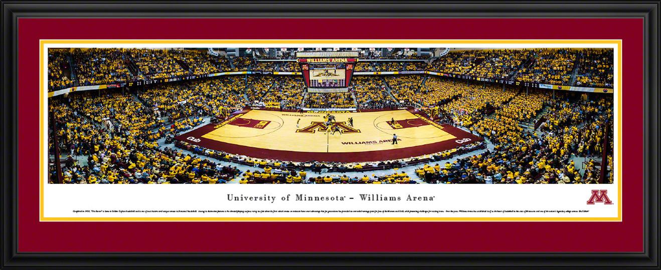 Minnesota Golden Gophers Basketball Panorama - Williams Arena