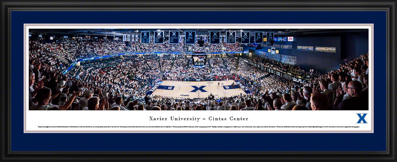Xavier Musketeers Basketball Panoramic Picture - Cintas Center
