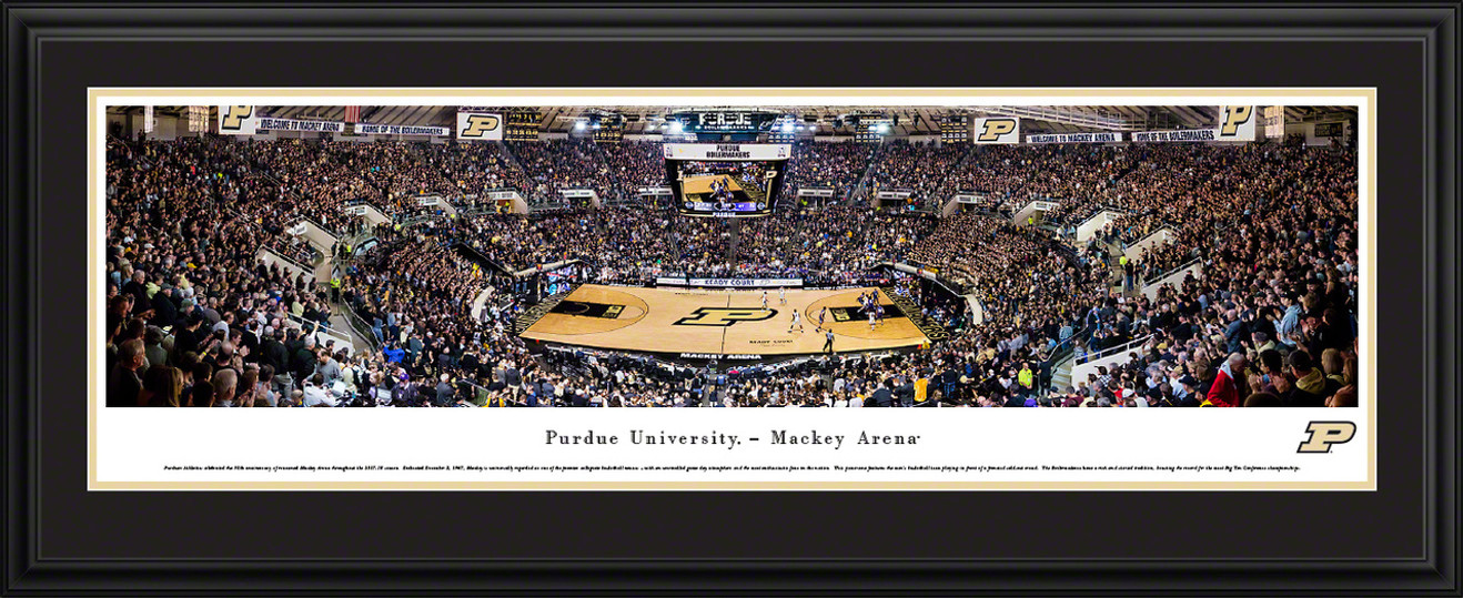 Purdue Boilermakers Basketball Panoramic Picture - Mackey Arena