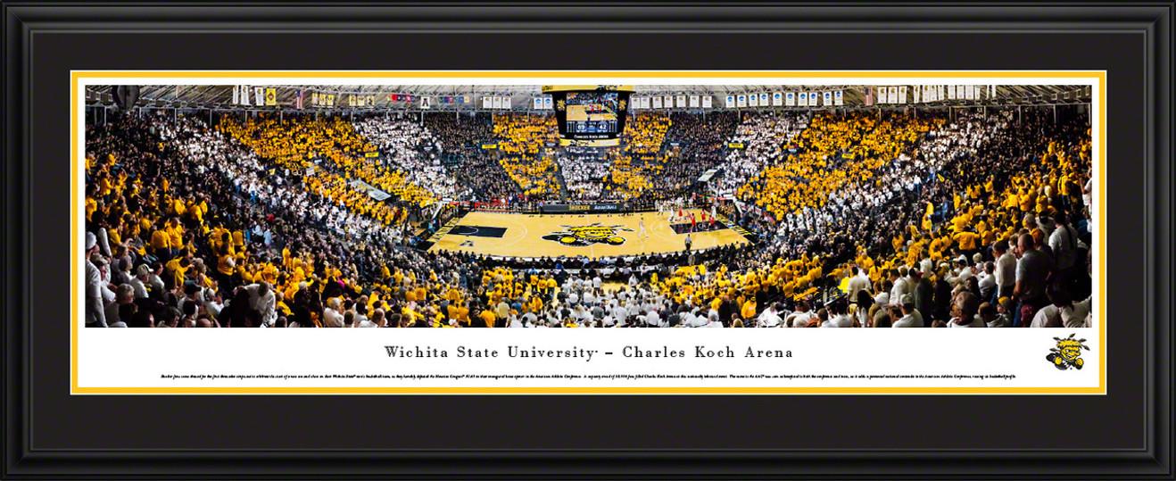Wichita State Shockers Basketball Panoramic Picture - Charles Koch Arena