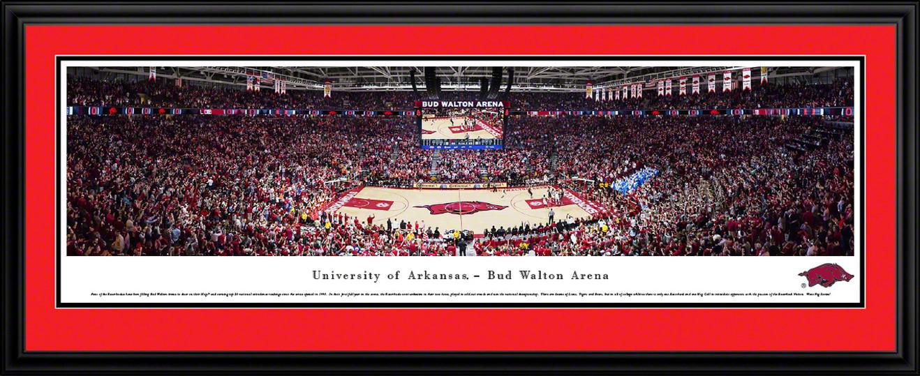 Arkansas Razorbacks Basketball Panorama - Bud Walton Arena