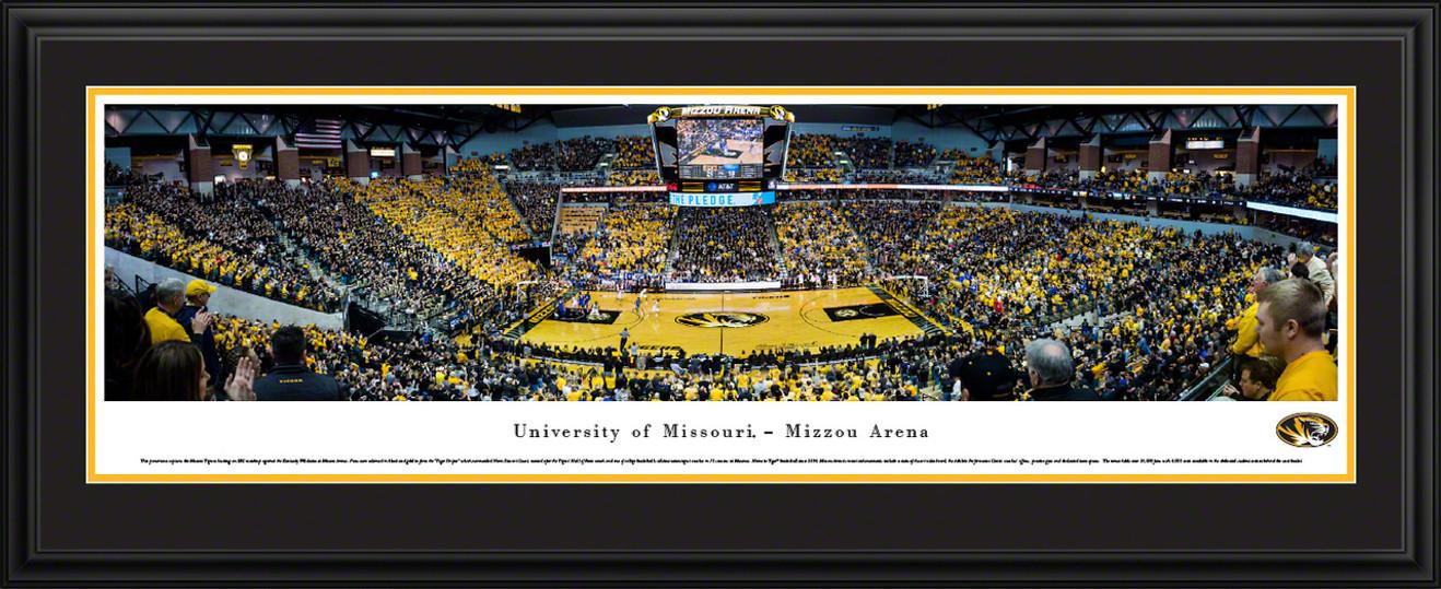 Missouri Tigers Basketball Panoramic Picture - Mizzou Arena