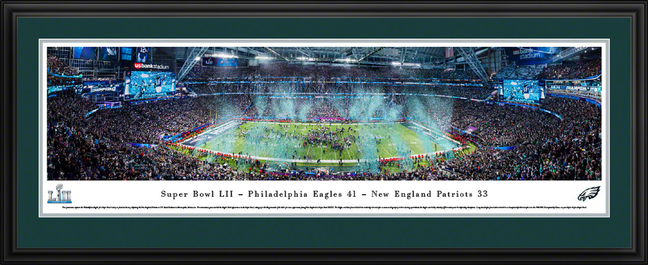 2018 Super Bowl LII Panoramic Picture - Philadelphia Eagles - Super Bowl 52