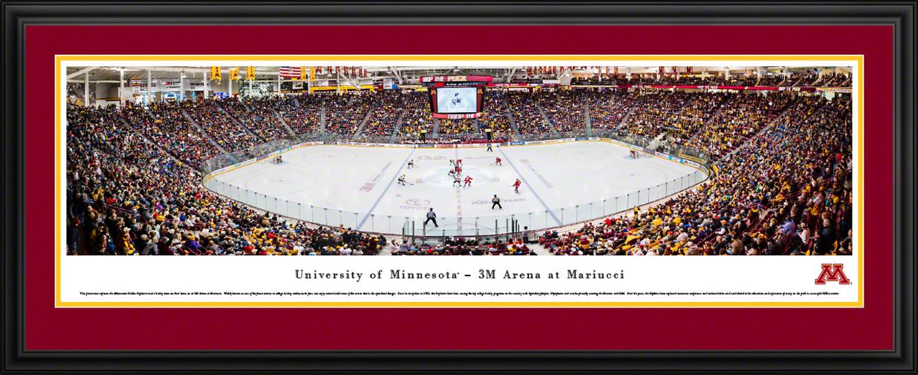 Minnesota Golden Gophers Hockey Panoramic Picture - Mariucci Arena