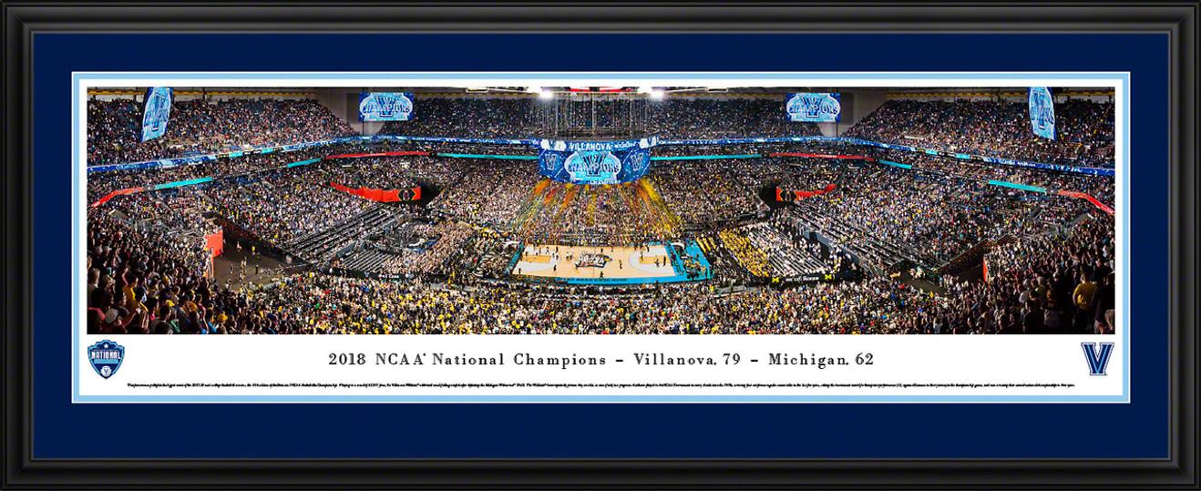 2018 NCAA Championship Basketball Panoramic Picture - Villanova Wildcats