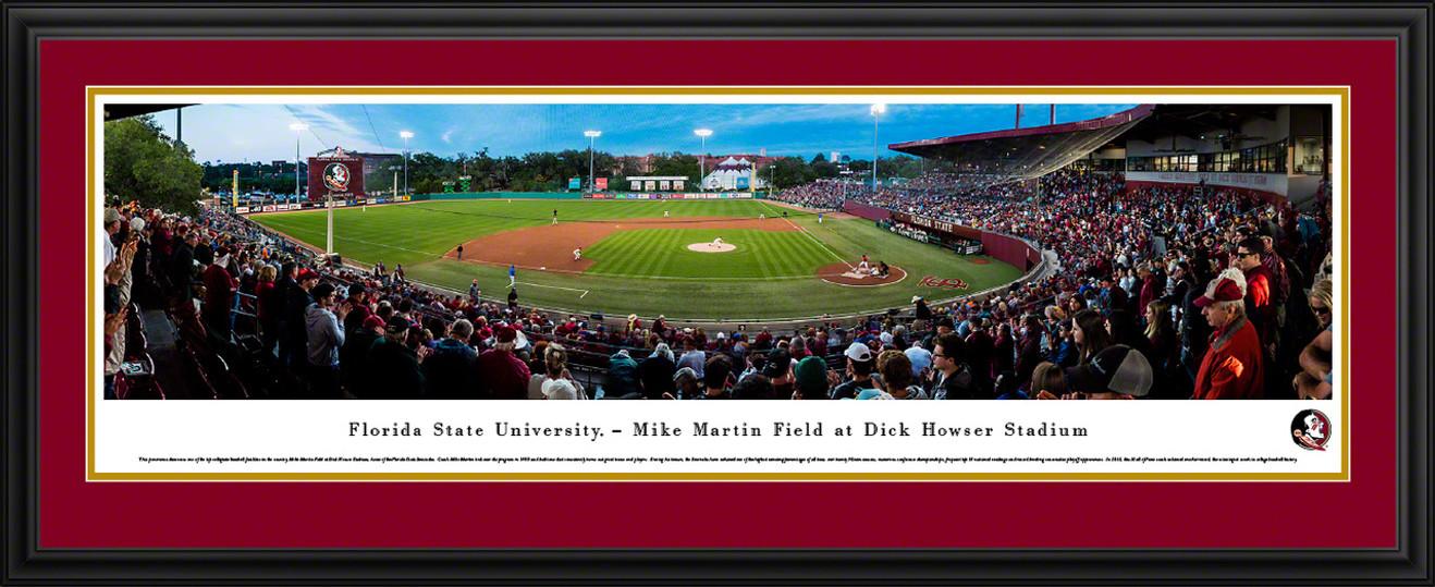 Florida State Seminoles Baseball Panoramic Picture - Mike Martin Field at Dick Howser Stadium