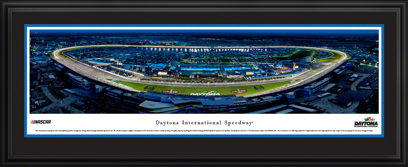 Daytona International Speedway Night Race - Panoramic Picture