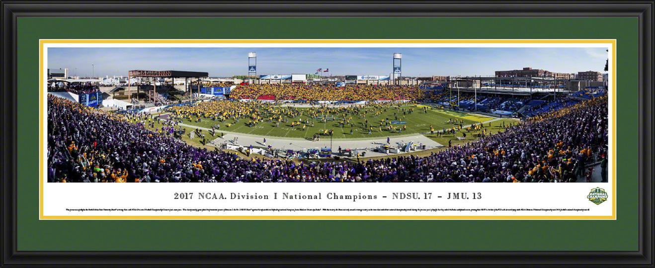 2018 NCAA FCS Football Championship Panoramic Picture - NDSU Bison