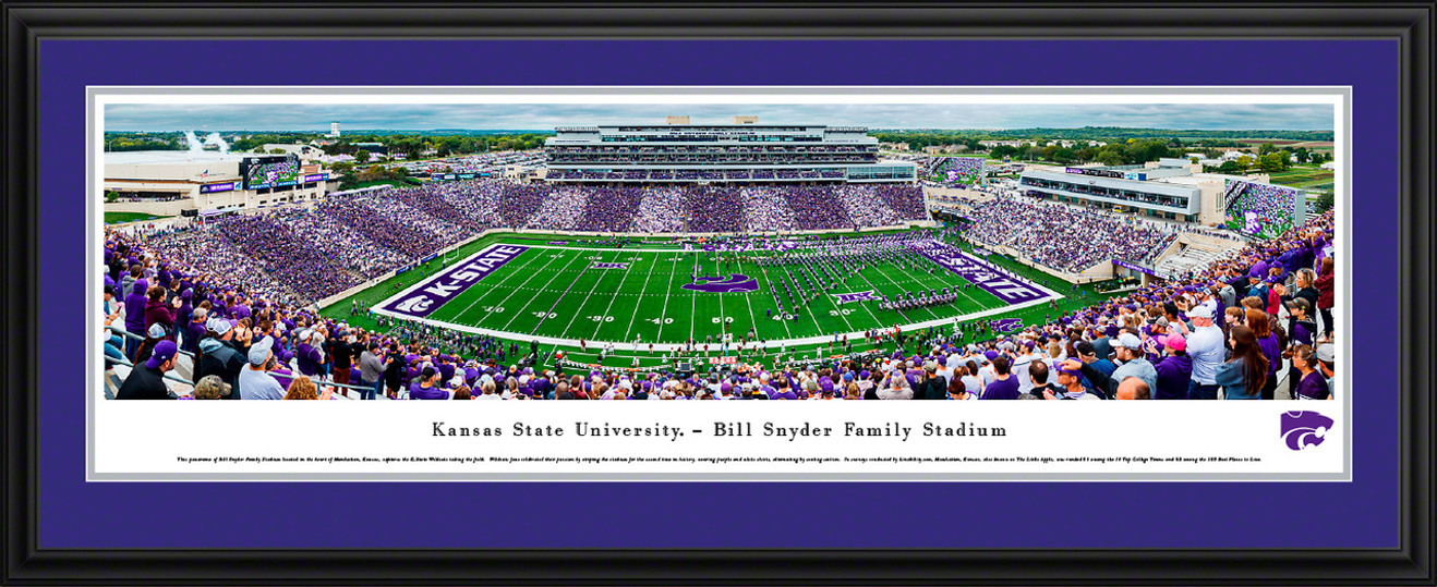 K-State Wildcats Football Panorama - Kansas State Bill Snyder Family Stadium