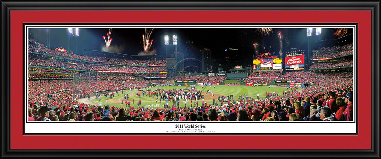 St. Louis Cardinals Panoramic Picture - 2011 World Series MLB Wall Decor