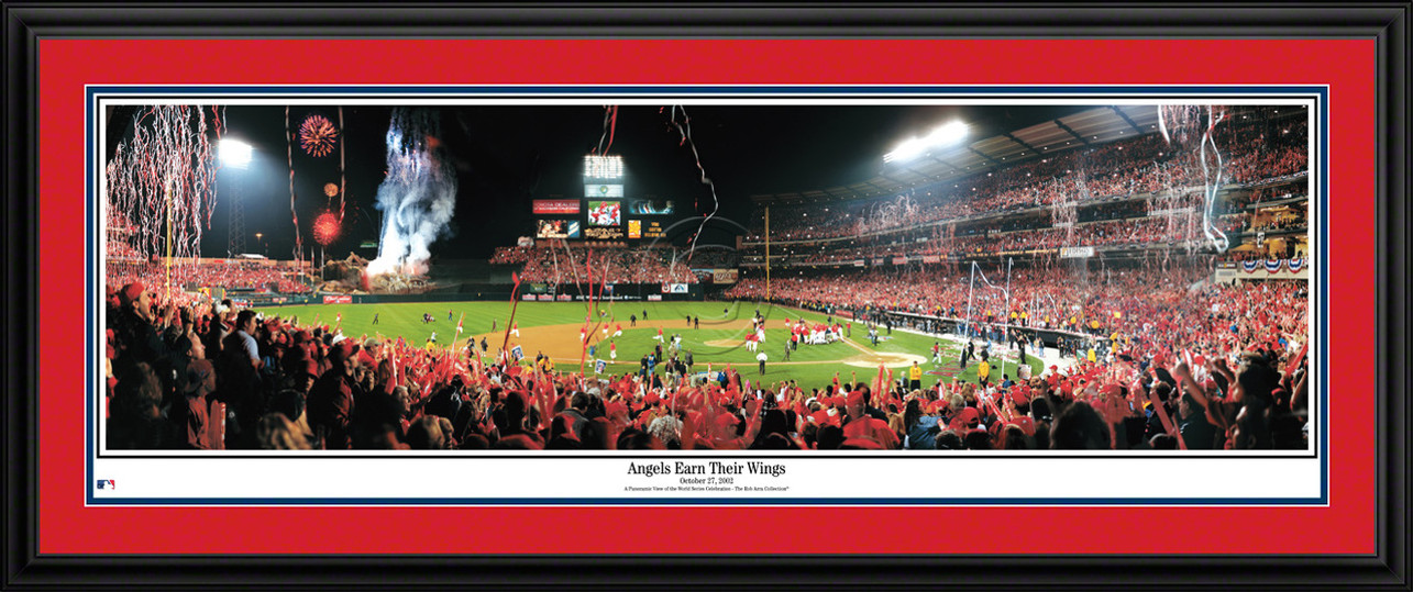 Los Angeles Angels of Anaheim Panorama - 2002 World Series MLB Wall Decor