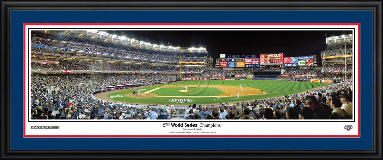 New York Yankees Panorama - 27th World Series Champions - MLB Wall Decor